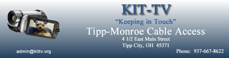 KIT-TV  -  Tipp-Monroe Cable Access, Tipp City, OH  45371